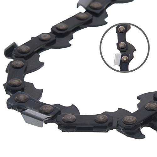 8TEN Chainsaw Guide Bar and 2 Chains for Stihl MS 170 210 211 230 231 250 251 22LPX068G 3005 008 4717 18 inch .063 .325 68DL