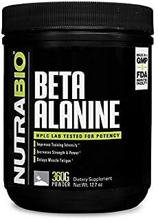 NutraBio Beta Alanine Powder - 360 Grams