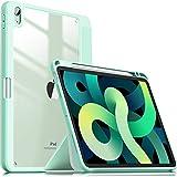 INFILAND Coque pour iPad Air 4 10.9 2020 (avec étui à Crayons), étui en TPU Ultra-Fin Antichoc...