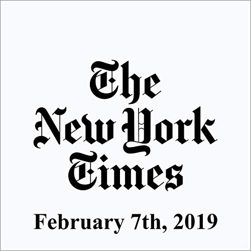 February 07, 2019 copertina