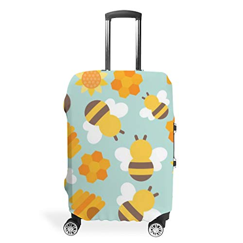 Dulce abeja animales sol maletas protectoras funda funda protectora impermeable maleta equipaje protección