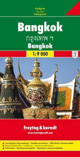 Freytag Berndt Stadtpläne, Bangkok 1:9.000: Stadskaart 1:9 000