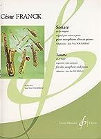 フランク: バイオリン・ソナタ イ長調(サクソフォン用編曲)/ビヨドウ社/サクソフォンとピアノ