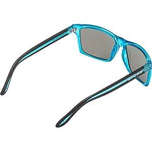 Cressi Rio Sunglasses Gafas de Sol Deportivo Polarizados, Unisex Adultos, Crystal Azul/Lentes Espejadas Azul, Talla única