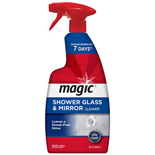 Magic Shower Glass & Mirror Cleaner, 28 Fluid Ounce