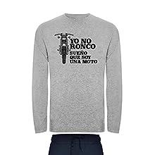 Pijama para Hombre Ronco sueño Moto Muy Comodo (XXL)
