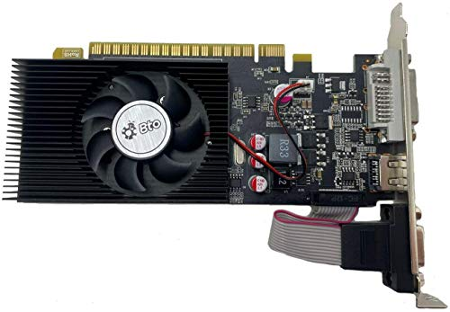 BTO NVIDIA GeForce GT 730 4GB VGA DVI HDMI PCI-E Video Graphics Card for Tower Desktop