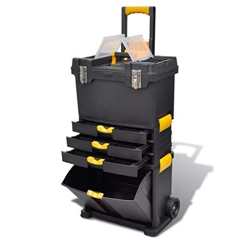 Generic Trolley Koffer Organ Trolley Koffer Organizer Home E Organizer Home Toy Tool Rollley Koffer Org Tragbare Kommode y Tool Storage Box Hest D