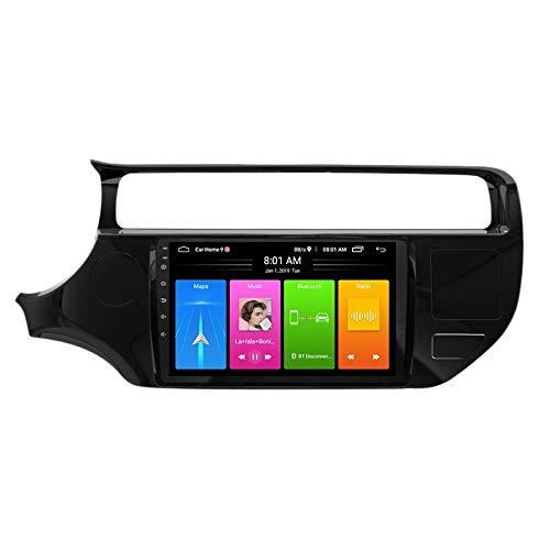 Youmine 9 Pulgadas 2 DIN Android 10.0 Car MP5 Player Radio EstéReo 2 + 16GB WiFi NavegacióN GPS para Rio 2015-2016