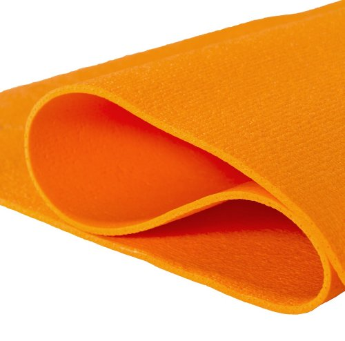 Yogamatte Premium 200 x 60 x 0,3 cm Made in Germany, orange