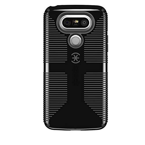 Speck CandyShell Grip Series Slim Hardshell Case Cover for LG G5 - Black/Gray