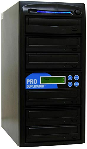 Produplicator 1 to 5 24X Burner CD DVD Duplicator - Standalone Copier Duplication Tower