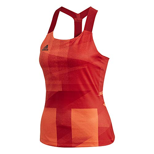 adidas Damen Y-Tank Olymp HR Top, app solar red/Scarlet, XL