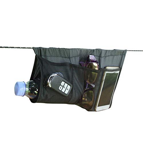 SUHAPPY Multipurpose Hammock Organizer Lightweight Portable Foldable Storage Bag for Outdoor Sports
