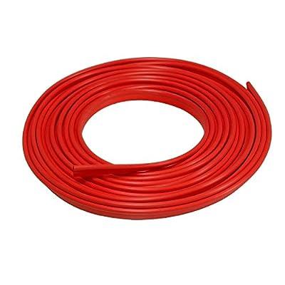 Lumision 16.4 FT (5 Meters) Flexible 3D DIY Automobile Car Motor Interior Exterior Decoration Moulding Trim Strip Line (Red)