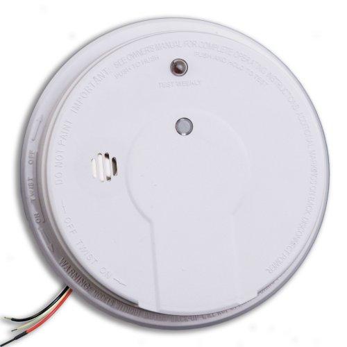 Kidde i12020 basic hardwire smoke alarm with test button