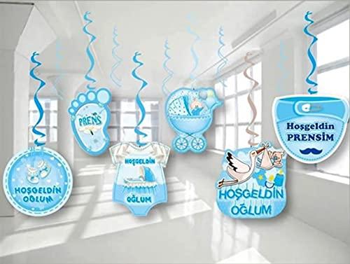 Hosgeldin Oglum - Guirnalda decorativa para fiestas