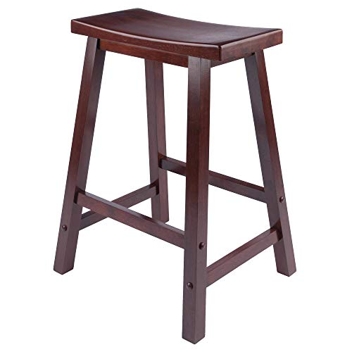 Winsome 94084 Satori Stool, 24', Walnut