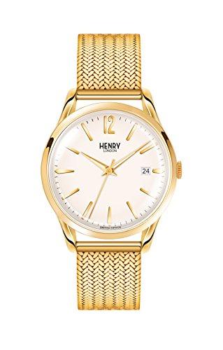 Henry London Armbanduhr HL39-M-0008
