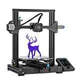 Official Ender 3 V2 Creality 3D Printer with Silent Mainboard Meanwell Power Supply and Carborundum Glass Platform Resuming Printing