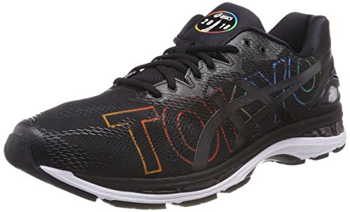 ASICS Gel-Nimbus 20 Tokyo Marathon, Chaussures de Running Homme, Noir (Tokyo/2018/Black 9090), 42 EU