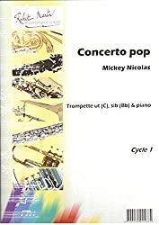 Partitions classique ROBERT MARTIN NICOLAS R. - CONCERTO POP, SIB OU UT Trompette