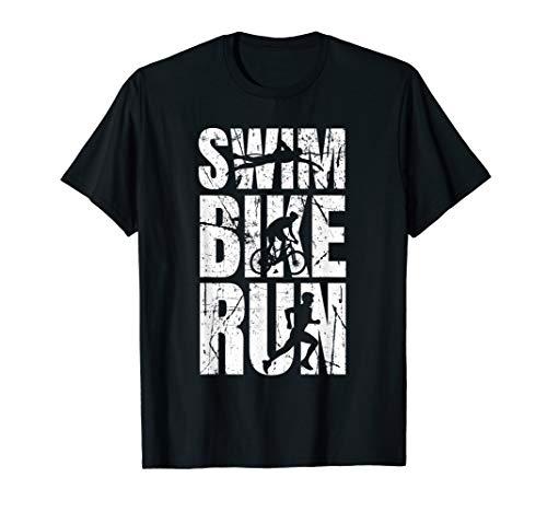 Triathlon T-shirt Schwimmen Fahrrad Fahren Laufen