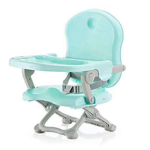 YShop Siège rehausseur portatif Confortable de bébé de bébé de Chaise réglable en Hauteur, Chaise dinante des Enfants for des bébés aux Enfants en Bas âge ( Color : Light Green )