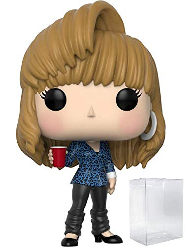 Funko Pop! Television: Friends - 80's Hair Rachel Green Vinyl Figure (Bundled with Pop Box Protector Case)