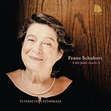 Franz Schubert: Late Piano Sonatas