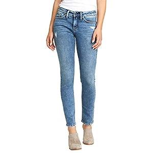 Women's Suki Curvy Fit Mid Rise Slim Leg Jeans