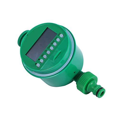 Temporizador de riego Temporizador electrónico de Agua para el hogar Programas de Control de riego de jardín LCD Digital Controlador automático del Temporizador de riego del jardín