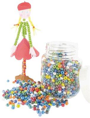 Perles Cassis (roc 5°) Lustrees, Petit Modele - Bocal De 500g [Jouet]