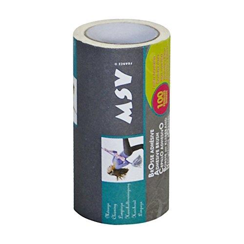 MSV 100509 Lot de 2 recharges 100 Feuilles, Papier, Blanche, 21x14x6 cm