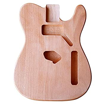 BexGears Unfinished Electric Guitar Body Okoume Wood Made