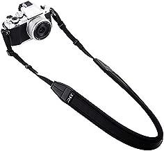 Mirrorless Camera Neck Strap Shoulder Belt Strap for Sony A6600 A6500 A6400 A6300 A6100 A6000 A7 III A7R IV A9 Fuji XT30 XT20 XT10 XT3 XT2 XT1 X-PRO2 X-E3 X100F X100T Canon M50 M6 Olympus E-M10 -Black