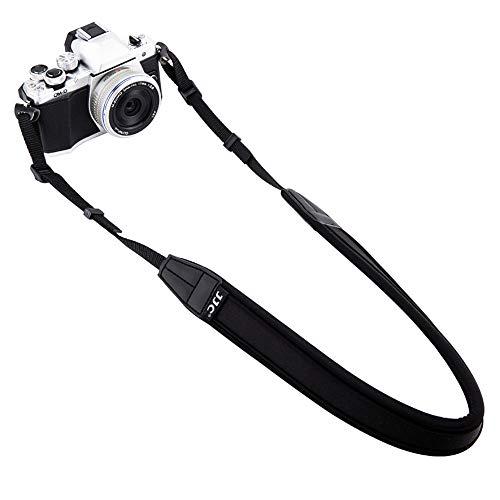 Mirrorless Camera Neck Strap Shoulder Belt for Sony A7C A6600 A6500 A6400 A6300 A7 III A7R IV A7S III A9 II Fujifilm X-T4 X-T3 X100V X-T200 X-PRO3 X-S10 X-E4 Canon M50 M6 II Mark II M6-Black