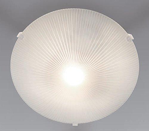 Trango Design glazen plafondlamp plafondlamp badkamerlamp met E27 fitting geschikt voor alle LED-lampen direct 230V TG1005