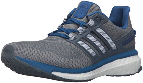 adidas Performance Men's Energy Boost 3 M Running Shoe,Mid Grey/Black/Equipment Blue,9 M US