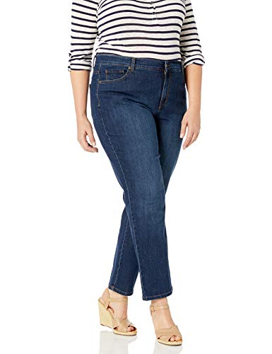 Gloria Vanderbilt Women's Amanda Classic Tapered Jean, Scottsdale Wash, 10 Short