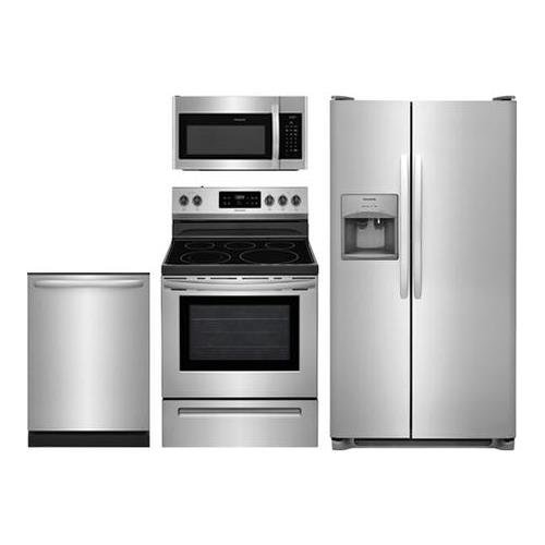 Appliance Packages Stainless Steel 4 Piece Amazon Com