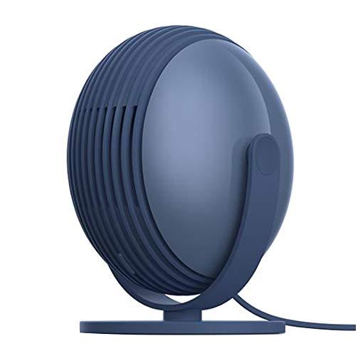 SODIAL Ventilador USB Sin Cuchillas Ventilador de Mesa de Escritorio Personal Pequeeo con Viento Fuerte OperacióN Silenciosa Ventilador PortáTil para Oficina Azul