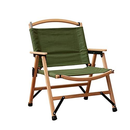 Sedia Portatile Sedie da Campeggio Compatto Sedie da Campeggio Pieghevole Sedia da Campeggio Telaio Naturale con Poltrona Portatile per braccioli Rigida Imbottita Pieghevole