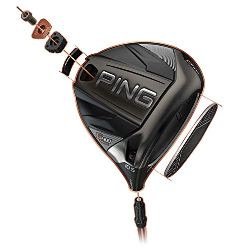Ping G400 Max Driver, Men's, Right Hand, 10.5°, ALTA CB Graphite Shaft, Regular Flex