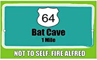 ノベルティサインギフトバット洞窟2032ブリキの壁看板レトロな鉄の塗装金属ポスター警告プラークアートガレージホームガーデンストアバーコーヒー