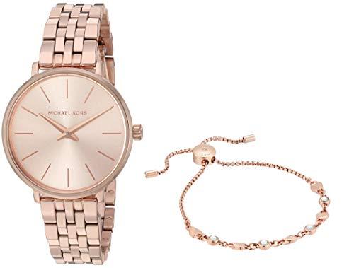 Michael Kors Analog Gold Dial Women's Watch-MK4496