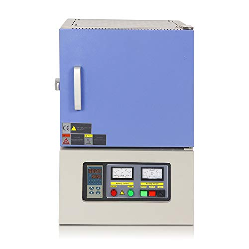 1L Temperatura Máxima de Laboratorio 1700 Grados Celsius Tipo Caja Horno de Reacción de Resistencia Horno de Mufla, 380V, Utilizado Para Reaccionar Materiales de Alta Temperatura