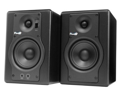 Fluid Audio F4 Paire de Moniteurs 30 W Noir