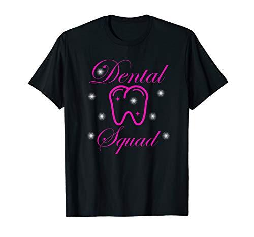 Zahnarzthelferin Zahnarzt Zahnmedizin Kieferorthopäde Team T-Shirt