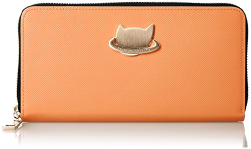 [ツモリチサト] 財布 ねこプラネット 57988 オレンジ